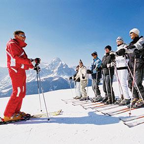 Leçons et cours de ski